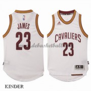 Basketball Trikot Kinder Cleveland Cavaliers 2015-16 LeBron James 23# Home Swingman..